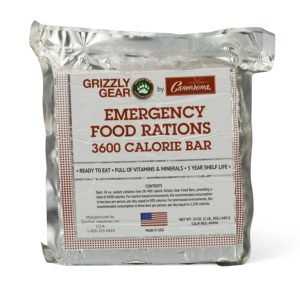 Emergency Food Rations - 3600 Calorie Bar - 3 Day Supply