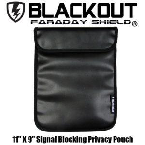 3.1 RFID Blocking Faraday Cage Privacy Bag EMP BLACKOUT Bag